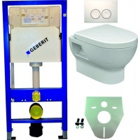 Geberit UP100 WC suspendu pack 2 1