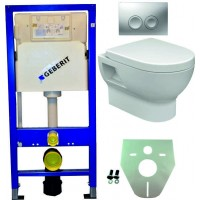 Geberit UP100 WC suspendu pack 3 1