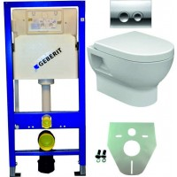Geberit UP100 WC suspendu pack 4 1