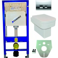 Geberit UP100 WC suspendu pack 17 1