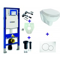 Geberit UP320 WC suspendu pack 18 1
