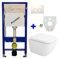 Geberit UP100 WC suspendu pack 8 1