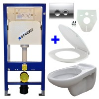 Geberit UP100 WC suspendu pack 9 1