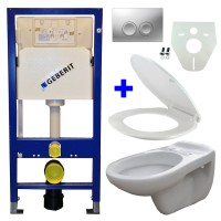 Geberit UP100 WC suspendu pack 10 1