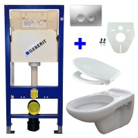 Geberit UP100 WC suspendu pack 12 1