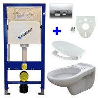 Geberit UP100 WC suspendu pack 15 1