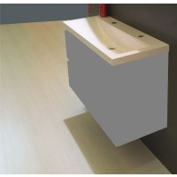 Sanifun lavabo Alliss 1000 x 360 x 115 mm 1