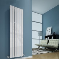 Radiateur design Sanifun Boston 1200 x 410 Blanc 1