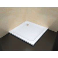 Sanifun receveur de douche Square LOW 800 x 800 M 1